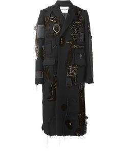 Heikki Salonen | Длинное Пальто В Стиле Пэчворк