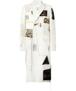 Heikki Salonen | Длинное Пальто С Лоскутным Дизайном