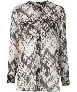 Vince | Блузка С Плетеным Принтом