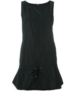 Moncler | Расклешенное Платье Со Сборкой