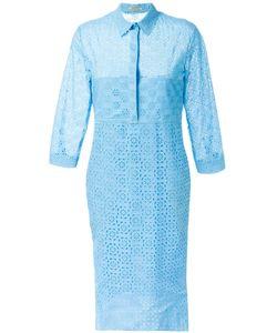 Nina Ricci | Платье-Рубашка Из Английского Кружева