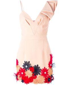 Emanuel Ungaro | Платье С Цветочной Аппликацией
