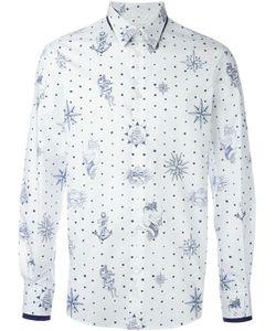 Alexander McQueen | Рубашка С Принтом