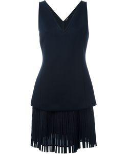 Neil Barrett | Платье-Шифт С Бахромой