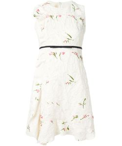 Giambattista Valli | Платье Без Рукавов С Цветочной Вышивкой