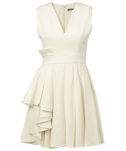 Alexander McQueen | Draped Skater Dress