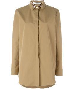Givenchy | Рубашка С Леопардовым Принтом На Воротнике