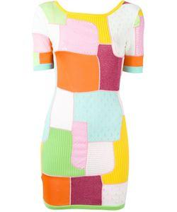 Moschino | Мини-Платье С Панельным Дизайном