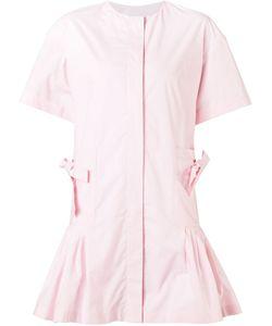 MINJUKIM | Расклешенное Платье-Рубашка