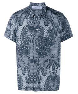 James Long | Рубашка С Принтом Пейсли И Короткими Рукавами