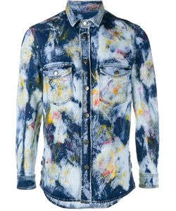 James Long   Рубашка С Линялым Эффектом
