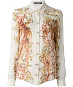 Balmain | Рубашка С Принтом Барокко