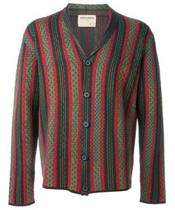 OUTSOURCE IMAGES | Jacquard V-Neck Cardigan