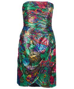 ESCADA VINTAGE | Платье С Люрексом Без Лямок