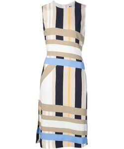 MSGM | Полосатое Платье Без Рукавов