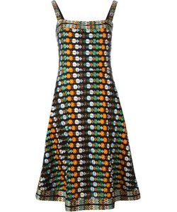 Tory Burch | Платье С Цветочной Вышивкой