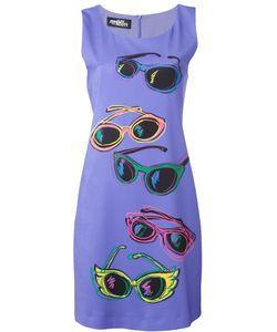 Jeremy Scott | Приталенное Платье С Принтом