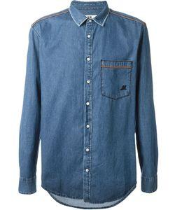 MSGM | Джинсовая Рубашка С Нагрудным Карманом