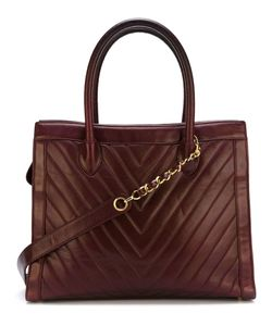 Chanel Vintage | Сумка-Тоут С Узором-Ёлочкой