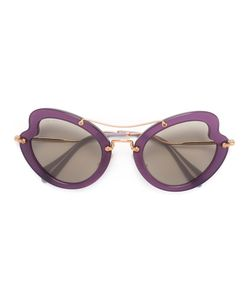 Miu Miu Eyewear | Wavy Shaped Sunglasses Acetate