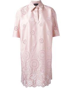 Rochas | Платье Шифт С Вышивкой