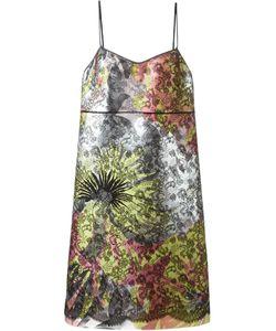 Rochas | Платье Шифт С Кружевной Вставкой