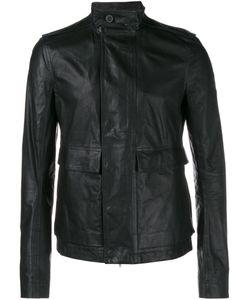Rick Owens | Кожаная Армейская Куртка