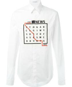 J.W. Anderson | Рубашка С Принтом Игры Слов