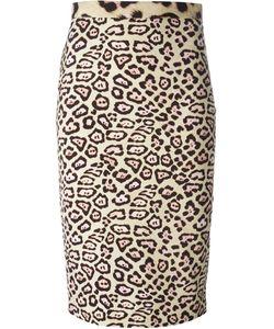 Givenchy | Юбка С Леопардовым Принтом
