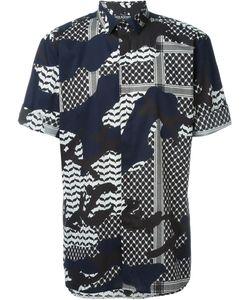 Neil Barrett | Рубашка Со Смешанным Принтом