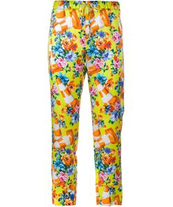 Moschino | Cone And Flower Print Trousers