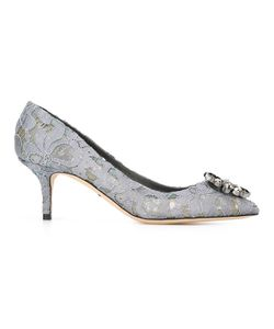 Dolce & Gabbana | Embellished Lace Pumps