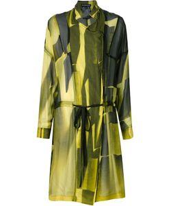 Ann Demeulemeester | Прозрачное Двубортное Пальто