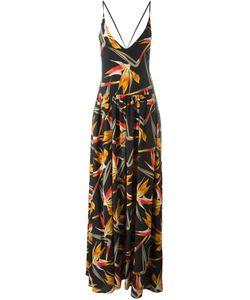 Fendi | Платье С Цветочным Принтом Bird Of Paradise