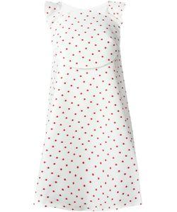 Delpozo | Платье А-Образного Силуэта В Горох