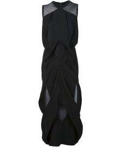 MICOL RAGNI   Асимметричное Платье С Сетчатой Панелью