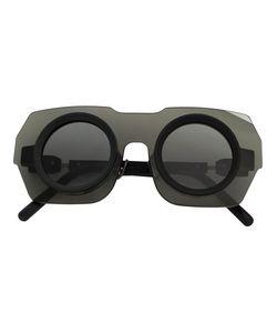 KUBORAUM   Oversized Sunglasses Adult Unisex Acetate/Glass