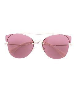 Miu Miu Eyewear   Rimless Ascaacat Eye Sunglasses