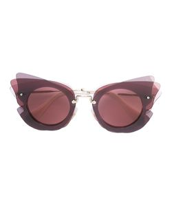 Miu Miu Eyewear | Oversized Sunglasses Acetate/Metal