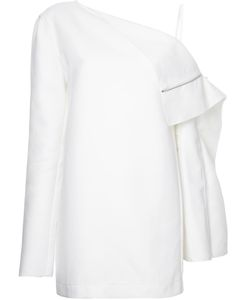 Dion Lee | Axis Folded Dress 8 Cotton/Polyamide