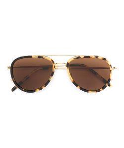 Tomas Maier   Aviator Frame Sunglasses Acetate/Metal Other