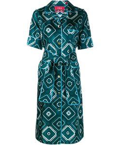 FOR RESTLESS SLEEPERS | Giacinto Printed Silk Wrap Dress