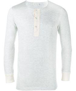 MERZ B. SCHWANEN | Long-Sleeve Henley T-Shirt