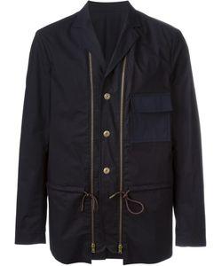 Marni | Короткое Пальто С Декоративными Молниями