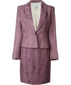 Christian Dior Vintage   Жаккардовый Юбочный Костюм