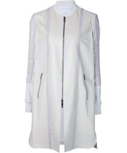 CALLENS | Пальто На Молнии С Панельным Дизайном