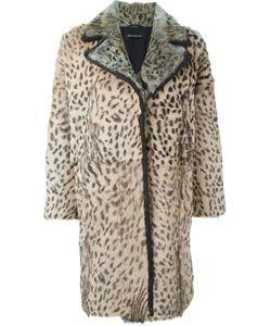 INÈS & MARÉCHAL | Notched Lapels Fur Coat