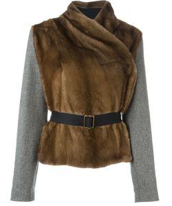 INÈS & MARÉCHAL | Куртка С Меховой Панелью