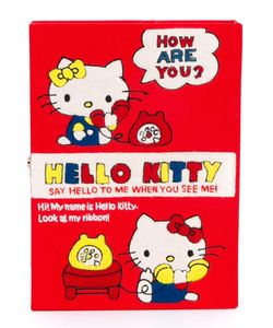 Olympia Le-Tan | Клатч Hello Kitty Book