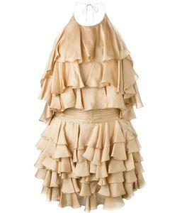 Balmain | Платье С Рюшами